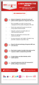 HIV Outcomes Recommendations Infographic