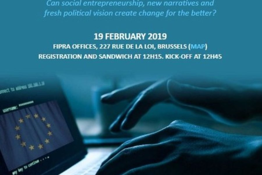 INVITATION: Hacking the Future of Europe