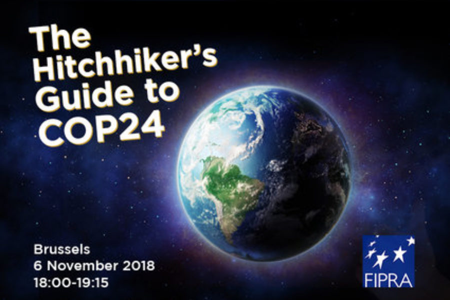 EVENT 6/11/2018 – The Hitchhiker's Guide to COP24