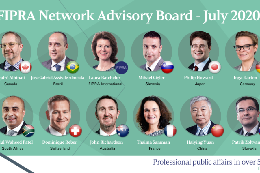 FIPRA Network unveils new global Advisory Board