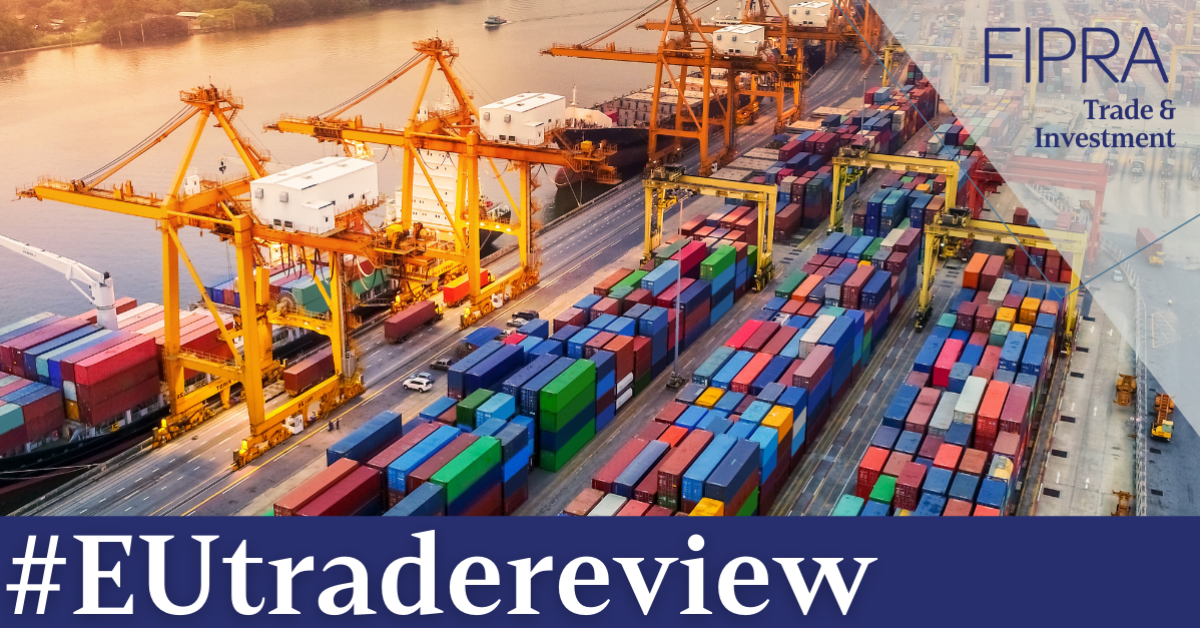 EU trade policy review: crucial moment to safeguard rules-based multilateralism