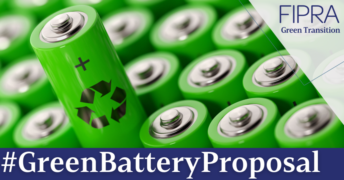 Green battery proposal: commendable ambition hindered by patchy modus operandi