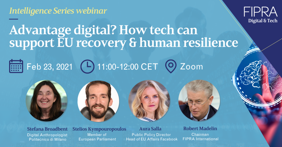 Advantage digital? How tech can support EU recovery & human resilience