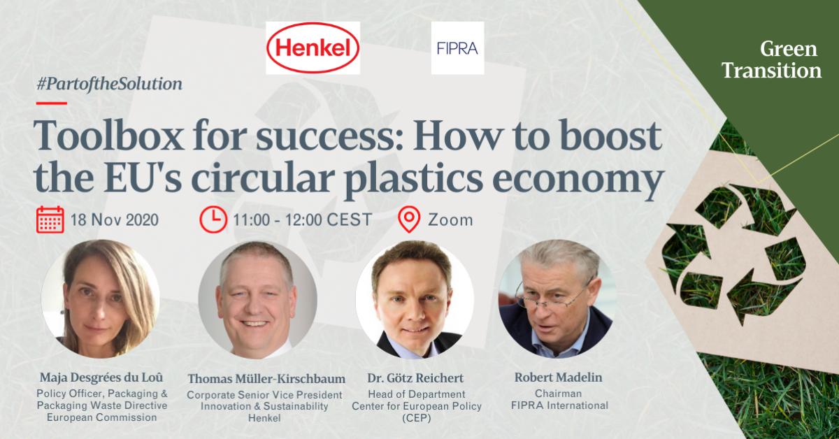 Toolbox for success: How to boost the EU's circular plastics economy