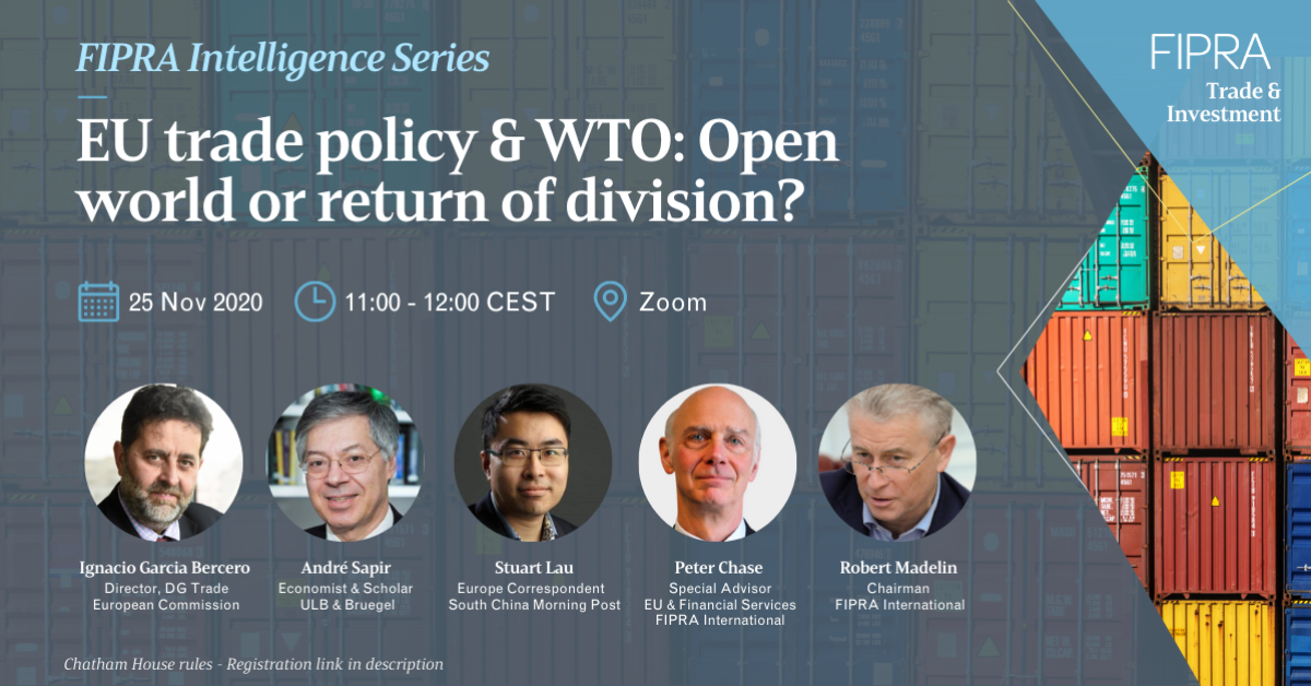 EU trade policy & WTO: Open world or return of division?