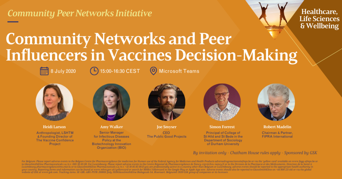 Community Networks and Peer Influencersin Vaccines Decision-Making