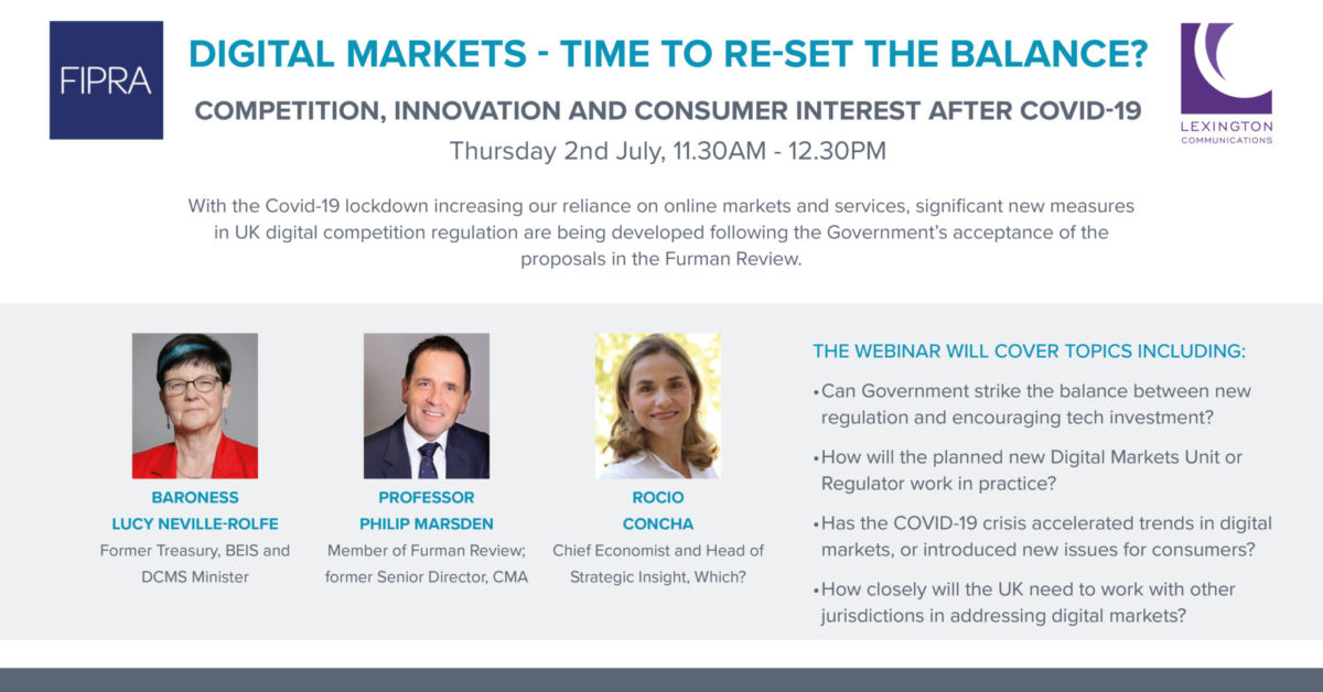 Digital markets in the UK – Time to re-set the balance?
