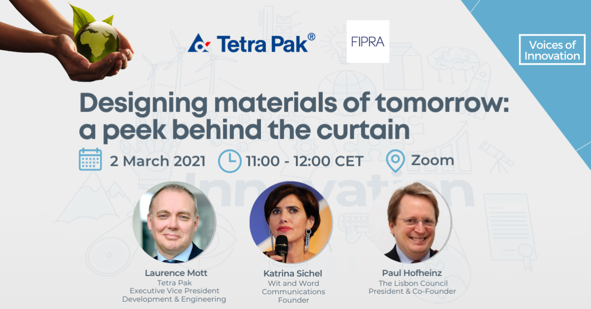 Designing the materials of tomorrow, a peek behind the curtain