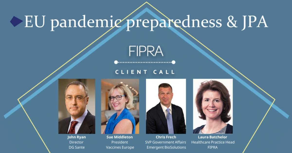 EU pandemic preparedness and the use of JPA