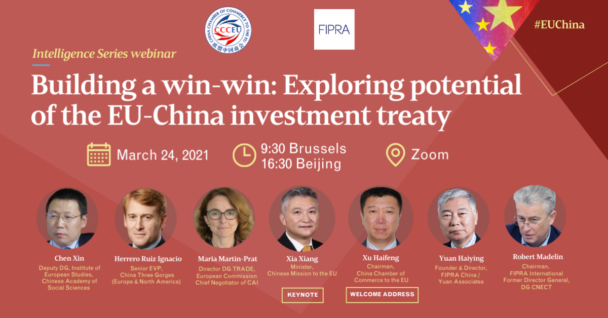 Building a win-win: Exploring potential of the EU–China Investment Treaty