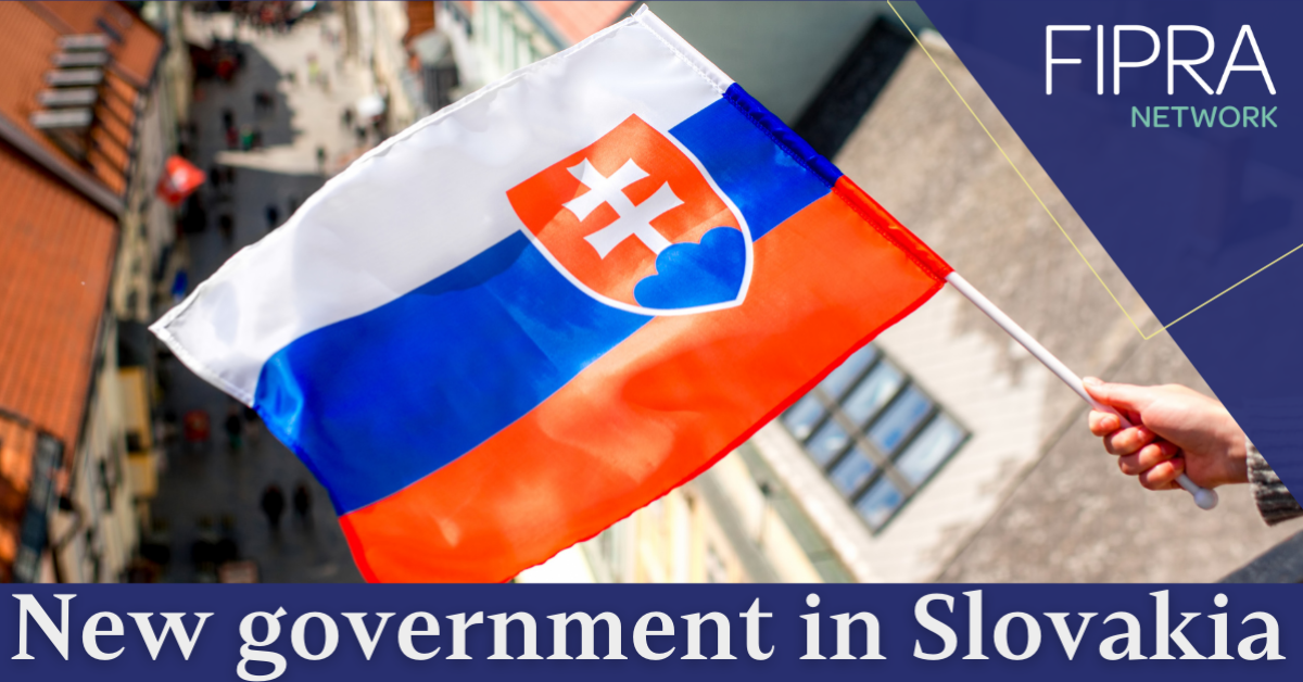 PM Eduard Heger & new Slovak government swing into action