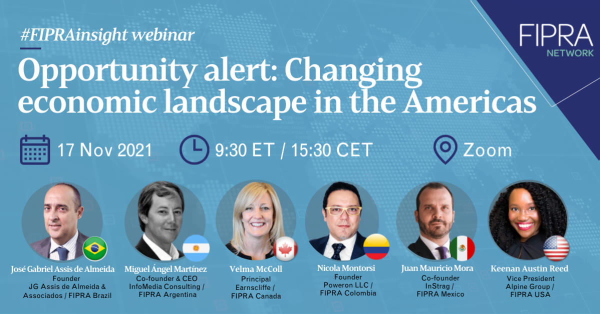 Opportunity alert: Changing economic landscape in the Americas